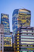 London financial district. London, United Kingdom.