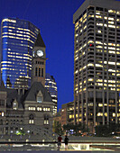 Canada, Ontario, Toronto, Nathan Phillips Square, Old City Hall