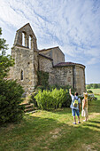 France, Auvergne, Allier, Church of Taxat.