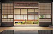 Japan, Takahashi, Raikyuji Temple, garden, Okayama Prefecture