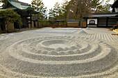Japan; Kyoto, Kodaiji Temple, sand garden