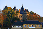 Europe France Combourg Castle in Brittany
