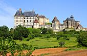 France, Nouvelle Aquitaine, Dordogne department (24), Biron castle
