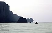 France, Normandy, Seine Maritime department (76), Etretat, cliffs of Etretat