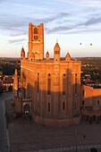 France, Occitanie, Tarn department (81), Albi, Sainte Cecile cathedral, Unesco world heritage