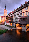 Krämer bridge, Erfurt, Thuringia, Eastgermany, Germany