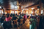 Hut catering on the Braunschweiger hut, E5, Alpenüberquerung, 4th stage, Skihütte Zams,Pitztal,Lacheralm, Wenns, Gletscherstube, Zams to  Braunschweiger Hütte, tyrol, austria, Alps