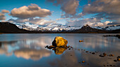 warm light at Raftsund, Lofoten Islands, Norway