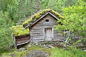 Old watermill in museum Ryfylkemuseet by Suldalslagen, Kolbeinstveit, near Sand, Rogaland, Fjord norway, Southern norway, Norway, Scandinavia, Northern Europe, Europe