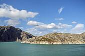 Lake Blådalsvatnet in Folgefonna national park, Hordaland, Fjord norway, Southern norway, Norway, Scandinavia, Northern Europe, Europe