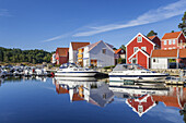 View of Furuholmen, Northern Sea, Vest-Agder, Sorlandet, Southern Norway, Norway, Scandinavia, Northern Europe, Europe