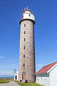 Lighthouse Lista fyr at the Lista, Northern Sea, Vest-Agder, Sorlandet, Southern Norway, Norway, Scandinavia, Northern Europe, Europe