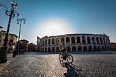 Arena, Piazza Bra, Verona, Venetien, Italien