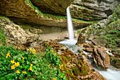 Pericnik-Wasserfall, Vrata-Tal, Triglav-Nationalpark, Julische Alpen, Slowenien