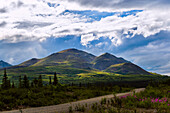 hills at Denali Highway, Alaska, USA