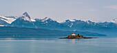 Eldred Rock Lighthouse, Chilkat Inlet, Alaska, USA