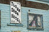 hotel in Dawson City, Yukon Territory, Canada