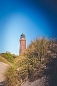 Leuchtturm Darßer Ort an der Ostsee mit Vignettierung