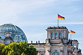 Glass dome, Reichstag, Bundestag, Berlin, Germany