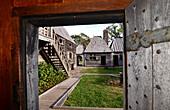 Historical village Port Royal near Annapolis Royal, Nova Scotia, Canada