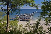 Seebrücke Sellin; Insel Rügen; Ostseeküste; Mecklenburg-Vorpommern; Deutschland