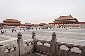 view at Hall of Supreme Harmony, the Forbidden City, Beijing, China, Asia, UNESCO World Heritage