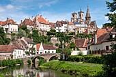 Semur-en-Auxois Cote-d'Or Bourgogne-Franche-Comte France.'