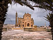 Sanctuary of the Virgin of Ta' Pinu in Gozo. Malta