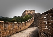 Great wall of China. Beijing.