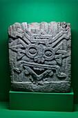 Pre-Hispanic Art Museum Rufino Tamayo, God of Sun, Classic Maya period, Campeche, 200-750 AD, Oaxaca, Mexico.