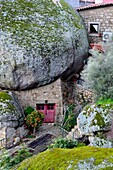 House between the rocks of Monsanto, Castelo Branco province, Portugal