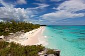 Lighthouse beach, South Eleuthera island, Bahamas.