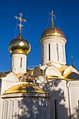Holy Trinity Cathedral, The Holy Trinity Saint Serguis Lavra, UNESCO World Heritage Site, Sergiev Posad, Golden Ring, Russia