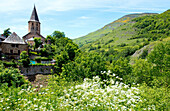The church in Salardu is considered the most beautiful in the Val d'Aran