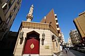 Schuhe, Kleine Moschee, Deira, Dubai, VAE, Vereinigte Arabische Emirate