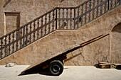 Cart, Stairs, Al Seef, Bur Dubai, Dubai, UAE, United Arab Emirates