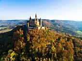 Hohenzollern Castle, Hechingen; Swabian Alb, Germany