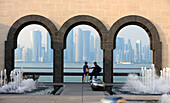 View from Museum of Islamic Art, Doha, Qatar
