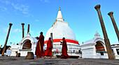 Thuparama Vatadage, Anurathapura, Norden von Sri Lanka