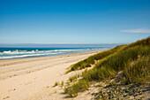 Sandstrand, Penmarc'h, Finistere, Bretagne, Frankreich