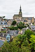 Stadtansicht, Dinan, Bretagne, Frankreich