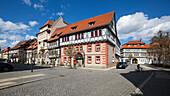 Bei der Marktkirche und Jüdengasse, Bad Langensalza Thüringen, Deutschland, Europa