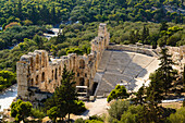 Amphietheater in der  Nähe der Acropolis, Athen, Griechenland