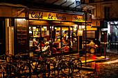 Brasserie cafe le nazir, 56 Rue des Abbesses, Montmartre, 75018 Paris, Frankreich, Europa