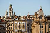 View at the old town of Porto, Rio Douro, District Porto, Portugal, Europe
