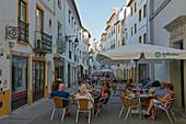 View along the street Alcárcova de Cima, Évora, Unesco World Heritage, District Évora, Alentejo, Portugal, Europe