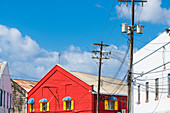 Red House, Old Town, Bridgetown, Barbados, Caribbean, Lesser Antilles