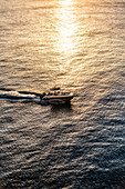 Yacht, Sunset, Bridgetown, Barbados, Caribbean, Lesser Antilles