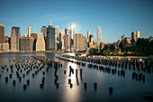 View at Skyline of Manhattan with the ONE World Trade Centre, NYC, New York City, United States of America, USA, Northern America