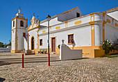 Church, Igreja Matriz de Alvor, Nature reserve, Reserva Natural da Ría do Alvor, Alvor near Portimao, District Faro, Region of Algarve, Portugal, Europe